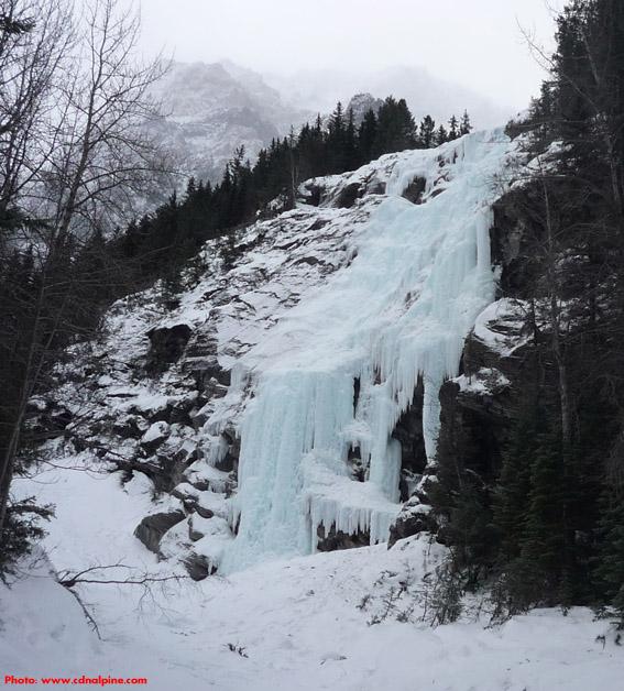 Masseys from near the base of the climb.