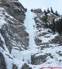 Upper tier of ice on Super Bock