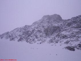 The Maul mixed climb in Kananaskis.
